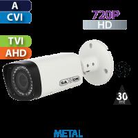 Cámara Bala IR HD-CVI  720p Varifocal  Saxxon by Dahua (BVF2710TM)