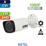 Cámara Bala IR HD-CVI 1080p Varifocal  Saxxon by Dahua (BVF2720TM)