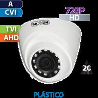 Cámara Domo IR HD-CVI  720p  Saxxon by Dahua (DF2810T)