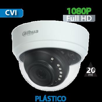 Cámara Domo IR HD-CVI 1080p Varifocal  Dahua (HAC-D1A21)