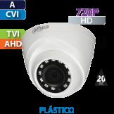 Cámara Domo IR HD-CVI  720p  Dahua (HDW1000R-S3/28)
