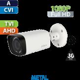 Cámara Bala IR HD-CVI 1080p Varifocal IR 30 Mts Dahua (HAC-HFW1220R-VF)