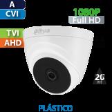 Cámara Domo IR HD-CVI 1080p Dahua  (HAC-T1A21)