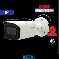 Cámara Bala IR IP 8MP Varifocal Motorizado 2.8~12mm Dahua (HFW2831T-ZS)