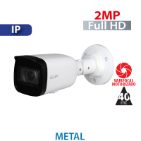 Cámara Bala IR IP 2MP Varifocal Motorizada 2.8-12mm Dahua (IPC-B2B20-ZS)