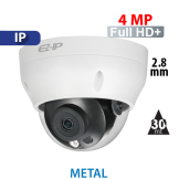 Cámara Domo IR IP 4MP Dahua (IPC-D2B40)
