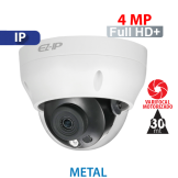 Cámara Domo IR IP 4MP Varifocal Motorizado 2.8~12mm Dahua (IPC-D2B40-ZS)