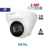 Cámara Domo IR IP 2MP - 1080p Dahua (IPC-T1B20)