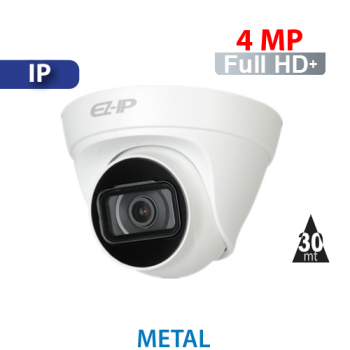 Cámara Domo IR IP 4MP Dahua (IPC-T1B40)