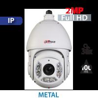 Cámara PTZ 30X IR 100mts IP 2MP Dahua (SD6C230S-HN)