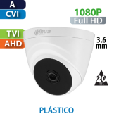 Cámara Domo IR HD-CVI 1080p  Dahua (T1A21)