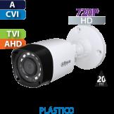 Cámara Bala IR HD-CVI  720p Dahua (HFW1000RN)