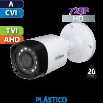 Cámara Bala IR HD-CVI  720p Dahua (HFW1000R28S3)