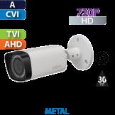 Cámara Bala IR HD-CVI  720p Varifocal Dahua  (HFW1100RN-VF)