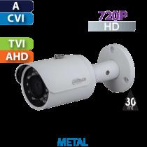 Cámara Bala IR HD-CVI  720p Dahua (HFW1100SN-S3/28)