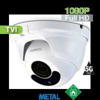 Cámara Domo IR HD-TVI 1080P Varifocal IR 50 Mts. HomeSys by Avtech (DGC1304)