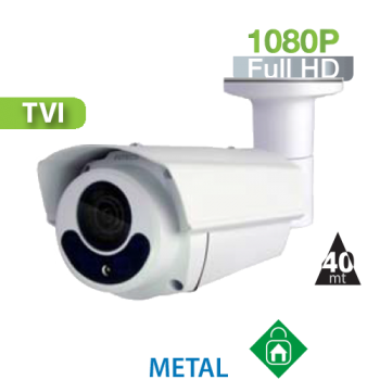 Cámara Bala IR HD-TVI 1080P Varifocal IR 40 Mts. HomeSys by Avtech (DGC1305)