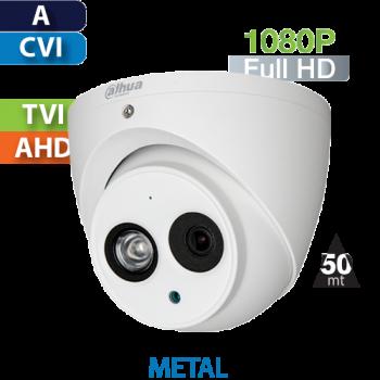 Cámara Domo IR HD-CVI 1080p Dahua (HDW1200EM-A)