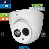 Cámara Domo IR HD-CVI 1080p IR 50 Mts CON AUDIO Dahua (HDW1200EMN-A)