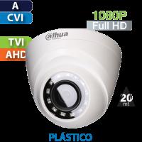 Cámara Domo IR HD-CVI 1080p Dahua (HDW1200RN)