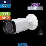 Cámara Bala IR HD-CVI  720p Varifocal IR 60 Mts Dahua (HFW1100R-VF-IRE6)