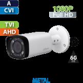 Cámara Bala IR HD-CVI 1080p Varifocal IR 60 Mts Dahua (HFW1220R-VF-IRE6)