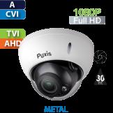 Cámara Domo IR HD-CVI 1080p Varifocal Antivandalico Pyxis (Xxxxx-prueba)