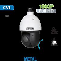 Cámara PTZ 25X IR 100mts HD-CVI 1080P Compacto Saxxon by Dahua (SD4925)