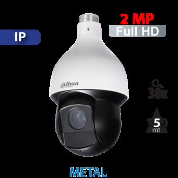 Cámara PTZ 30X IR 150mts IP 2 MP Dahua (SD59230U-HNI)