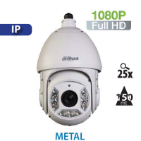 Cámara PTZ 25X IR 150mts IP 1080P Starlight Dahua (SD6C225U-HNI)