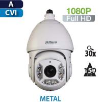Cámara PTZ 30X IR 150mts HD-CVI 1080P Dahua (SD6C230I-HC)