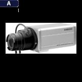 Cámara Bala Análoga Samsung (SCC-131B)