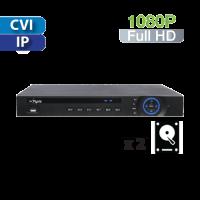 DVR  8 Canales 1080p   Híbrida HD-CVI / IP 2HD Dahua (PX-CVR8-2M-V2)