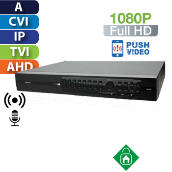 DVR 16 Canales 1080p Multiformato HomeSys by Avtech (VR403/E)
