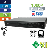 DVR 16 Canales 1080p Multiformato HomeSys by Avtech (VR403)