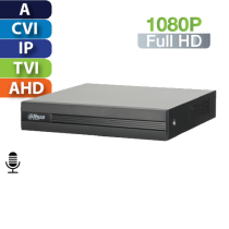DVR  8 Canales 1080p Penta-Brid Smart 1U Dahua (XVR1B08H)