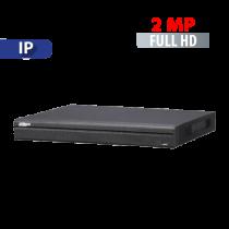 NVR 32 Canales 2 MP hasta  8 MP 1.5U 4K Dahua (NVR4432-4KS2)