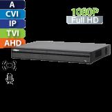 DVR 16 Canales 1080p Penta-Brid Smart 1U Dahua con Alarma (XVR5216A-X)