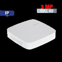 NVR  8 Canales hasta  3 MP Smart 1U 4K Dahua (NVR1B08/L)
