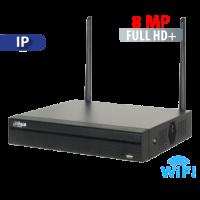 NVR  4 Canales  hasta  8 MP Smart 1U 4K Wi Fi Dahua (NVR2104HS-W-4KS2)