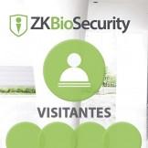 Software de Visitantes (Licencia por Estación) para ZKBioSecurity 3.0 (ZKBio3.0/Visi)