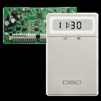 Kit: Alarma 1832 y Teclado LCD  de Íconos  Pequeño DSC (PC1832CLC11SPA)