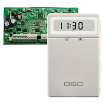 Kit: Alarma y Teclado 8 Zonas Expansión 32 Zonas DSC (PC1832CLC11SPA)