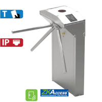 Molinete de Pedestal con Control de Acceso de Tarjeta  ZKTeco (TS1011)