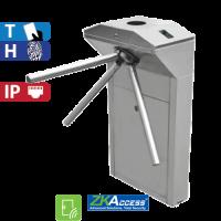 Molinete de Pedestal con Control de Acceso de Huella y Tarjeta ZKTeco (TS1022)