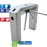 Molinete de Puente con Control de Acceso de Tarjeta y Huella ZKTeco (TS2022 Pro)