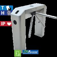 Molinete de Puente con Control de Acceso de Huella y Tarjeta ZKTeco (TS2022)
