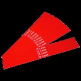 Calcomanías Reflectivas para Brazo Ovalado de Gard4 CAME (001G02809)