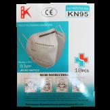 Mascarillas CERTIFICADAS KN95 10 Unidades (MASKN95)