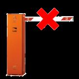 Barrera Naranja Izquierda Sin Brazo CAME (001G4010)
